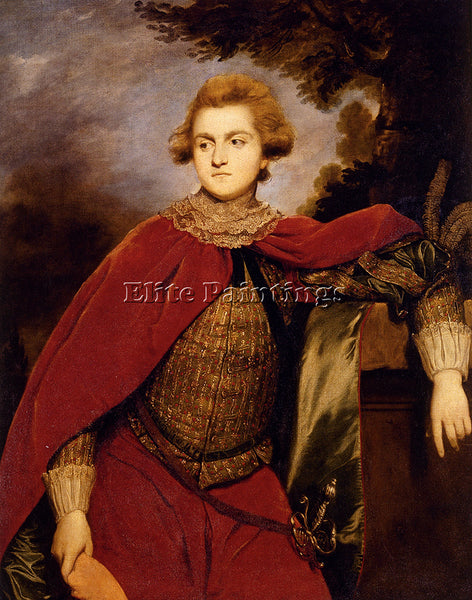 JOSHUA REYNOLDS PORTRAIT OF LORD ROBERT SPENCER ARTIST PAINTING REPRODUCTION OIL