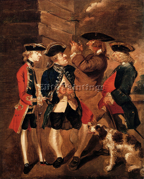 JOSHUA REYNOLDS PORTRAIT OF CHARLES TURNER SIR WILLIAM LOWTHER PAINTING HANDMADE