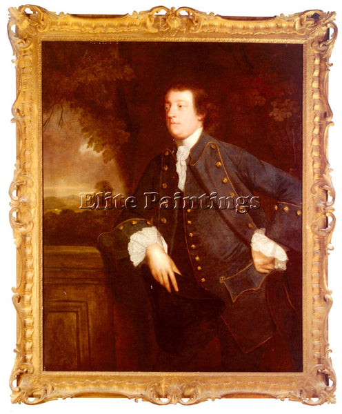 JOSHUA REYNOLDS PORTRAIT OF SIR WILLIAM LOWTHER 3RD BT ARTIST PAINTING HANDMADE