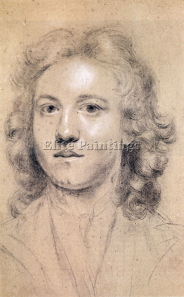 JOSHUA REYNOLDS PORTRAIT OF THE ARTIST AGED SEVENTEEN ARTIST PAINTING HANDMADE