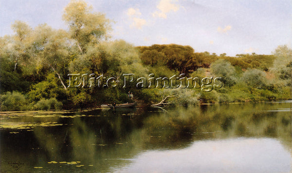 EMILIO SANCHEZ-PERRIER RIO ALCALA ARTIST PAINTING REPRODUCTION HANDMADE OIL DECO