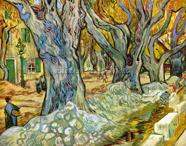 VAN GOGH ROADMAN ARTIST PAINTING REPRODUCTION HANDMADE OIL CANVAS REPRO WALL ART