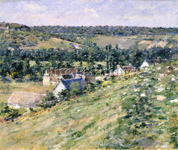 THEODORE ROBINSON GIVERNY ARTIST PAINTING REPRODUCTION HANDMADE OIL CANVAS REPRO