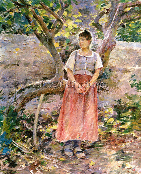 THEODORE ROBINSON POTATO HARVEST ARTIST PAINTING REPRODUCTION HANDMADE OIL REPRO