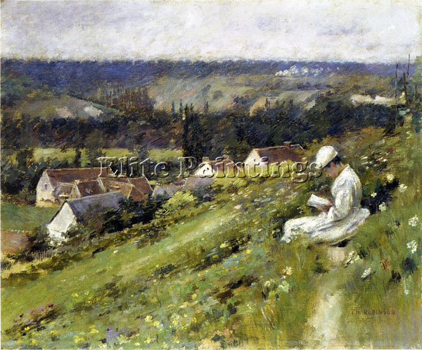 THEODORE ROBINSON VAL D ARCONVILLE ARTIST PAINTING REPRODUCTION HANDMADE OIL ART