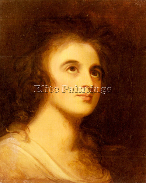 GEORGE ROMNEY PORTRAIT OF EMMA HAMILTON ARTIST PAINTING REPRODUCTION HANDMADE
