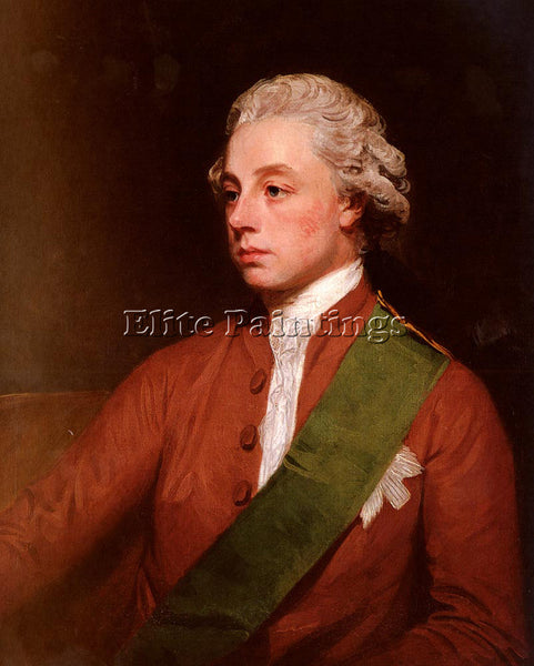 GEORGE ROMNEY PORTRAIT OF FREDERICK ARTIST PAINTING REPRODUCTION HANDMADE OIL