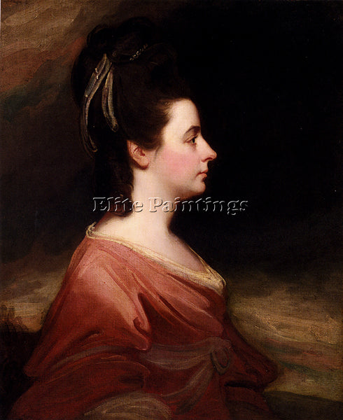 GEORGE ROMNEY PORTRAIT OF HARRIET GALE ARTIST PAINTING REPRODUCTION HANDMADE OIL