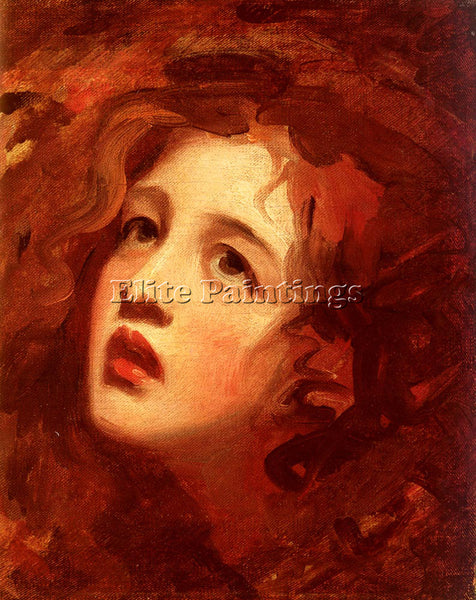 GEORGE ROMNEY PORTRAIT STUDY OF EMMA HAMILTON AS MIRANDA ARTIST PAINTING CANVAS