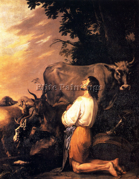 SALVATOR ROSA THE PRODIGAL SON ARTIST PAINTING REPRODUCTION HANDMADE OIL CANVAS