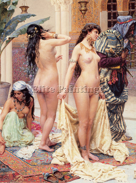 GIULIO ROSATI ROSATI PICKING THE FAVOURITE DETAIL ARTIST PAINTING REPRODUCTION
