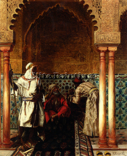 RUDOLF ERNST RUDOLPH ERNST DER WEISE THE SAGE 1886 ARTIST PAINTING REPRODUCTION
