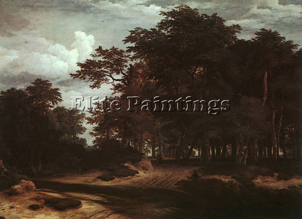 DUTCH RUISDAEL JACOB VAN DUTCH APPROX 1628 1682 ARTIST PAINTING REPRODUCTION OIL