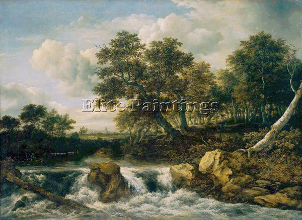 JACOB VAN RUISDAEL RUISDAEL 63MOUNT ARTIST PAINTING REPRODUCTION HANDMADE OIL