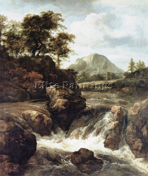 JACOB VAN RUISDAEL RUISDAEL 67WATERF ARTIST PAINTING REPRODUCTION HANDMADE OIL