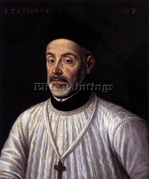 ALONSO SANCHEZ COELLO DIEGO DE COVARRUBIAS ARTIST PAINTING REPRODUCTION HANDMADE