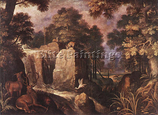 ROELANDT JACOBSZ SAVERY ROCKY LANDSCAPE 2 ARTIST PAINTING REPRODUCTION HANDMADE