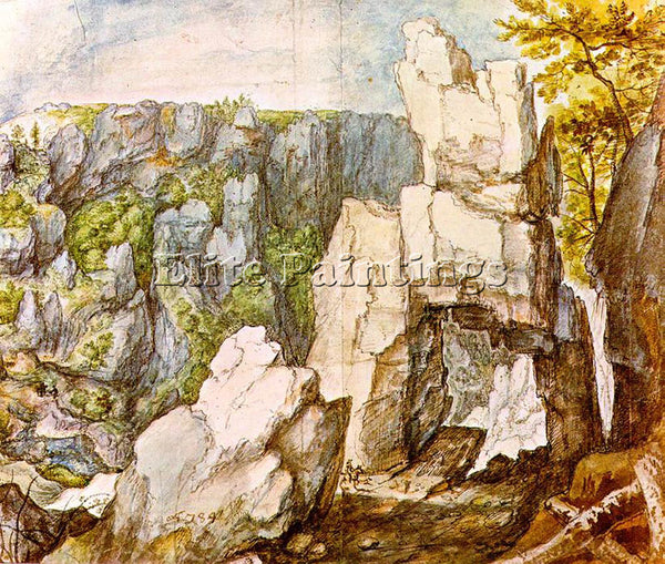 ROELANDT JACOBSZ SAVERY ROCKY LANDSCAPE ARTIST PAINTING REPRODUCTION HANDMADE