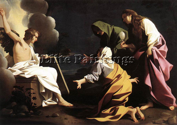 BARTOLOMEO SCHEDONI THE TWO MARYS AT THE TOMB ARTIST PAINTING REPRODUCTION OIL