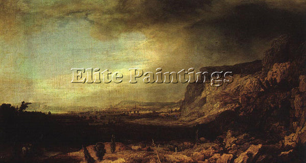 HERCULES SEGHERS MOUNTAINOUS LANDSCAPE ARTIST PAINTING REPRODUCTION HANDMADE OIL