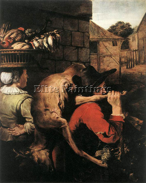 FRANS SNYDERS RETURN FROM THE HUNT 1 ARTIST PAINTING REPRODUCTION HANDMADE OIL