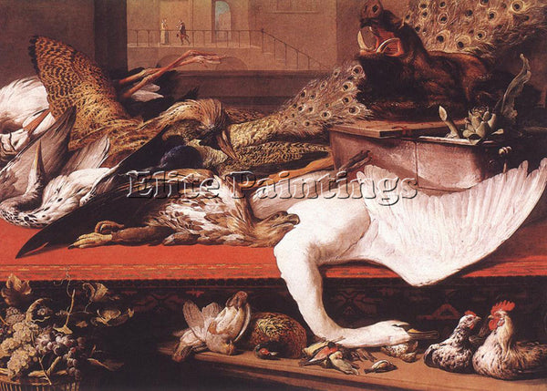 FRANS SNYDERS STILL LIFE 1614 ARTIST PAINTING REPRODUCTION HANDMADE CANVAS REPRO