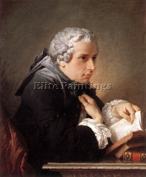 PIERRE SUBLEYRAS PORTRAIT OF A MAN 1745 ARTIST PAINTING REPRODUCTION HANDMADE