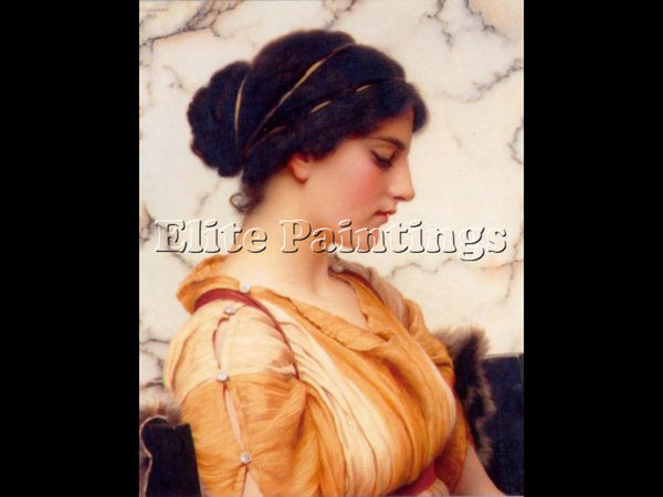 JOHN WILLIAM GODWARD SABINELLA 1912 ARTIST PAINTING REPRODUCTION HANDMADE OIL