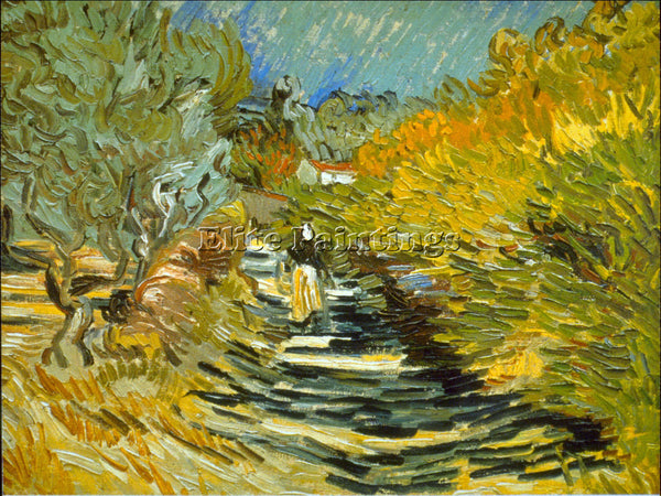 VAN GOGH SAINT REMY ARTIST PAINTING REPRODUCTION HANDMADE CANVAS REPRO WALL DECO