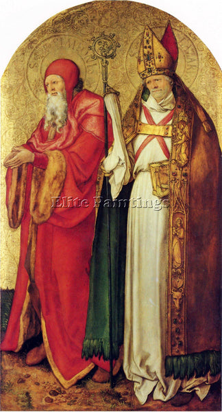 DURER SAINTS SIMEON AND LAZARUS ARTIST PAINTING REPRODUCTION HANDMADE OIL CANVAS