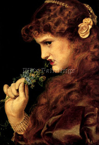 ANTHONY FREDERICK SANDYS LOVE ARTIST PAINTING REPRODUCTION HANDMADE CANVAS REPRO