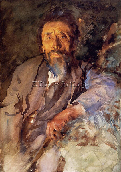 JOHN SINGER SARGENT THE TRAMP ARTIST PAINTING REPRODUCTION HANDMADE CANVAS REPRO