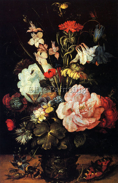 ROELANDT JACOBSZ SAVERY JACOBSZ FLOWERS IN A VASE ARTIST PAINTING REPRODUCTION