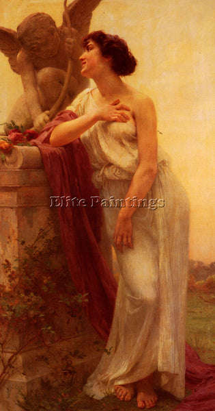 GUILLAUME SEIGNAC CONFIDENCE 1 ARTIST PAINTING REPRODUCTION HANDMADE OIL CANVAS
