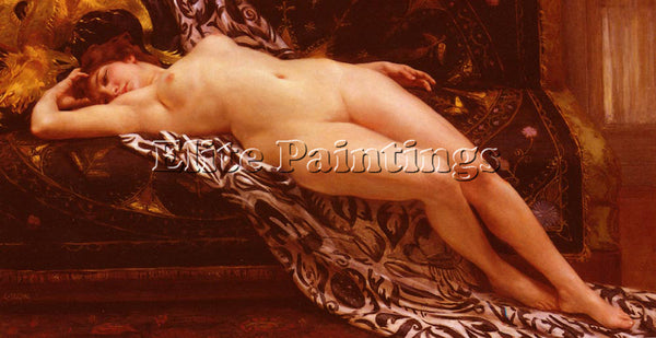 GUILLAUME SEIGNAC L ABANDON 1 ARTIST PAINTING REPRODUCTION HANDMADE CANVAS REPRO