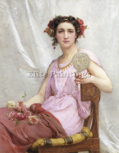 GUILLAUME SEIGNAC VANITY 1 ARTIST PAINTING REPRODUCTION HANDMADE OIL CANVAS DECO