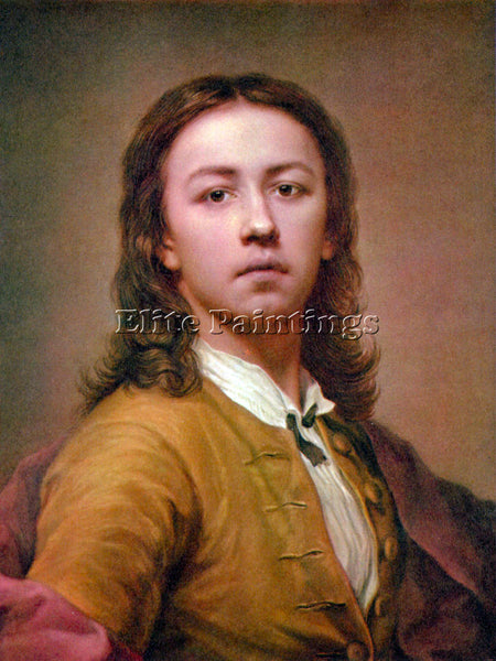 RAFFAELLO SELF PORTRAIT IN RED COAT BY RAPHAEL ARTIST PAINTING REPRODUCTION OIL