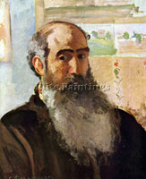 PISSARRO SELF PORTRAIT ARTIST PAINTING REPRODUCTION HANDMADE CANVAS REPRO WALL