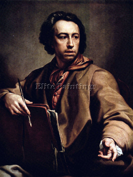 RAFFAELLO SELF PORTRAIT BY RAPHAEL ARTIST PAINTING REPRODUCTION HANDMADE OIL ART