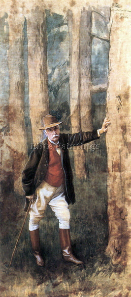 TISSOT SELF PORTRAIT ARTIST PAINTING REPRODUCTION HANDMADE OIL CANVAS REPRO WALL