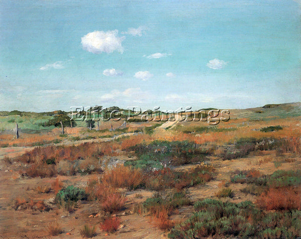 WILLIAM MERRITT CASE SHINNECOCK HILLS ARTIST PAINTING REPRODUCTION HANDMADE OIL