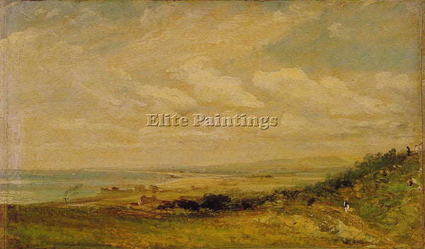 JOHN CONSTABLE SHOREHAM BAY ARTIST PAINTING REPRODUCTION HANDMADE OIL CANVAS ART