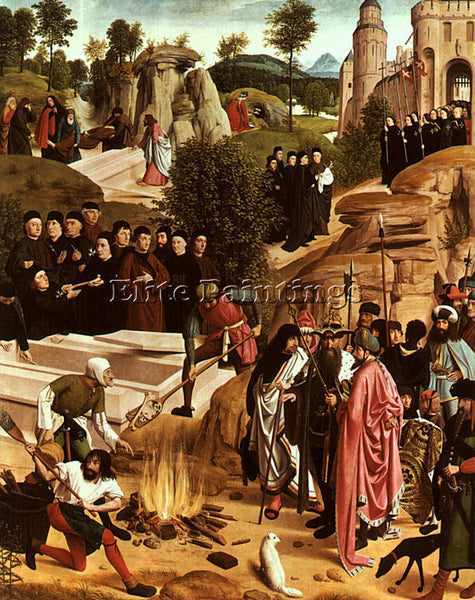 DUTCH SINT JANS GEERTGEN TOT DUTCH ACTIVE 1465 1495 ARTIST PAINTING REPRODUCTION