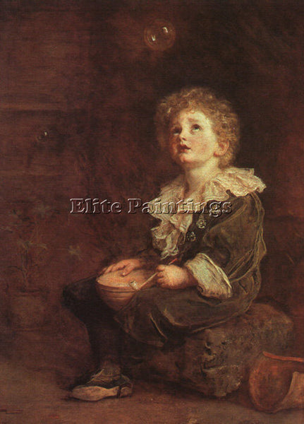 SIR JOHN EVERETT MILLAIS MILLAIS BUBBLES ARTIST PAINTING REPRODUCTION HANDMADE