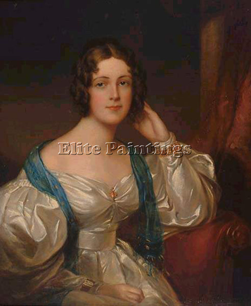 SIR THOMAS LAWRENCE LADY CONSTANCE CARRUTHERS ARTIST PAINTING REPRODUCTION OIL