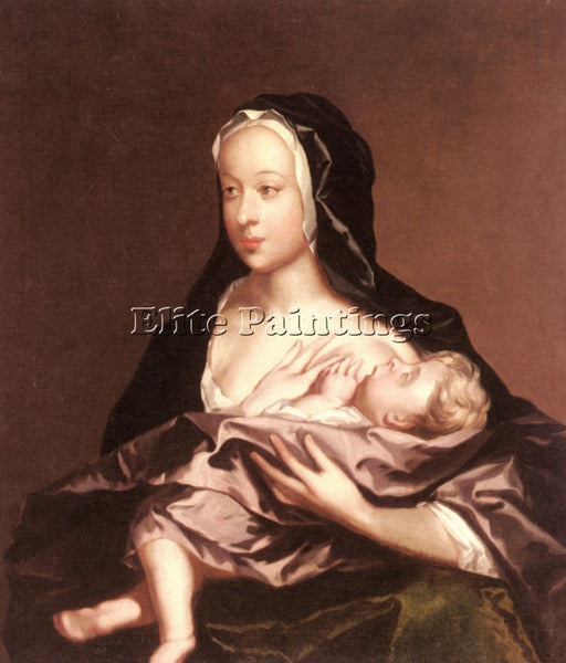 IL SODOMA SOEST GERARD MOTHER AND CHILD ARTIST PAINTING REPRODUCTION HANDMADE