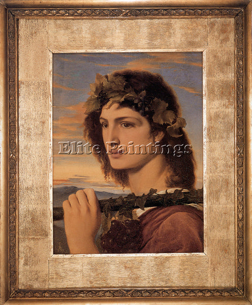 SIMEON SOLOMON BACCHUS ARTIST PAINTING REPRODUCTION HANDMADE CANVAS REPRO WALL