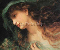 SOPHIE GENGEMBRE ANDERSON THE HEAD OF A NYMPH ARTIST PAINTING REPRODUCTION OIL