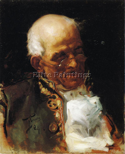 JOAQUIN SOROLLA Y BASTIDA PORTRAIT OF A CABALLERO ARTIST PAINTING REPRODUCTION