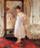 MORISOT SOUL ARTIST PAINTING REPRODUCTION HANDMADE OIL CANVAS REPRO WALL  DECO